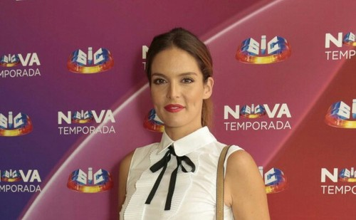 Diana Chaves na apresentação da nova temporada