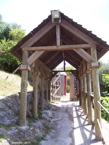 Castelo de Óbidos: Entrada no jardim