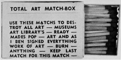 O sujeito artístico no final dos anos sessenta