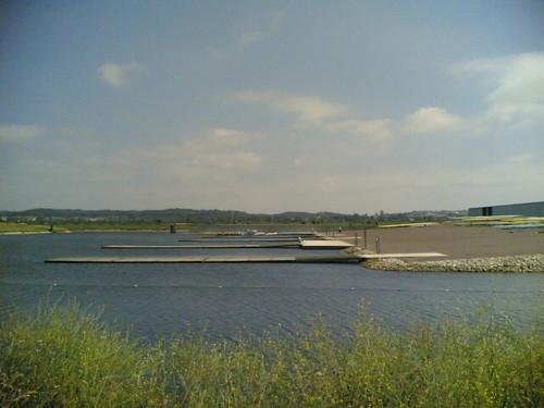 Centro de Alto Rendimento (M-o-v):Entrada na água