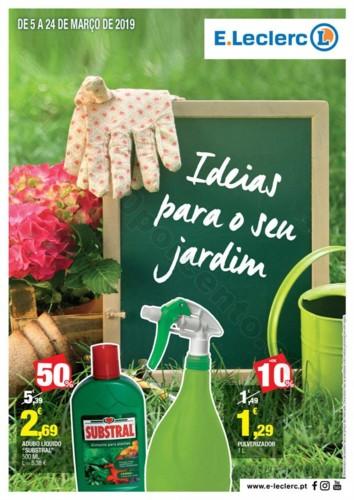Antevisão Folheto E-LECLERC Especial jardim promo