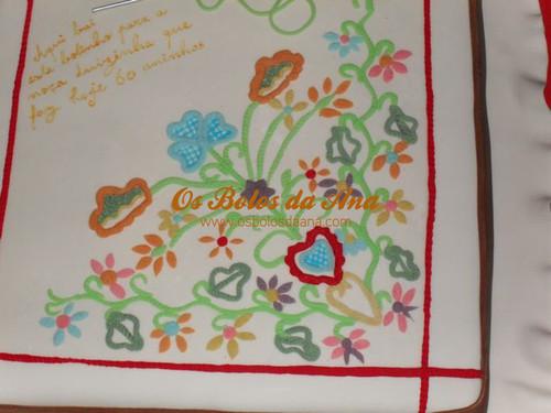 Bolos Artisticos, Bolo 3D, Dia Dos Namorados, Os Bolos da Ana, Bolos Aniversário, Cake Designers, Bolo, Bolos Decorados, Lenco de Namorados, Bolos Lenco de Namorados, Bolos Bordados