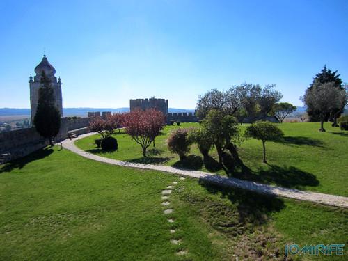 Castelo de Montemor-o-Velho - Jardim [en] Castle of Montemor-o-Velho in Portugal
