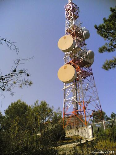 Antena Portugal Telecom na Serra da Boa Viagem