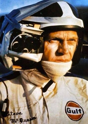 Steve McQueen, na rodagem de