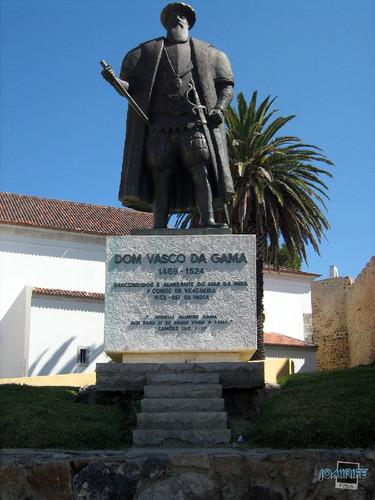 Vila de Sines (4) Estátua Dom Vasco da Gama