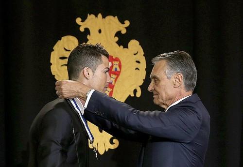 Cristiano Ronaldo condecorado