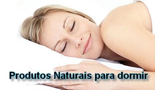 Produtos naturais para dormir