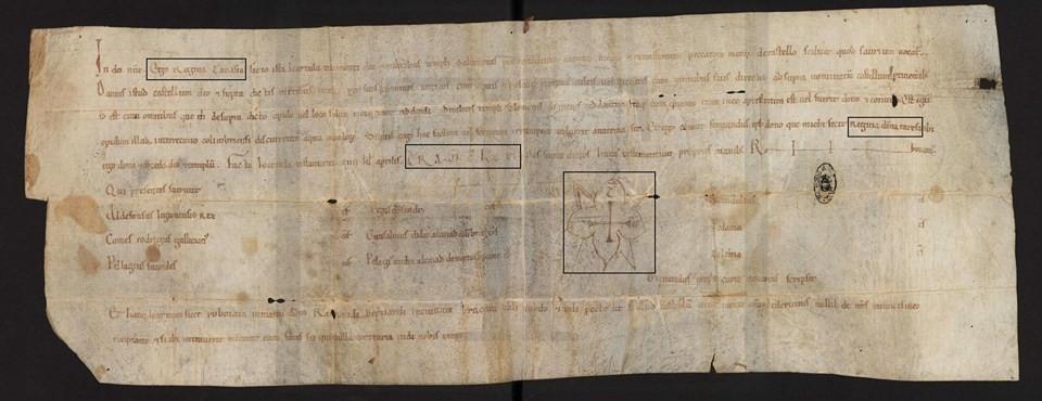 13 - Carta de doação do castelo de Soure à orde