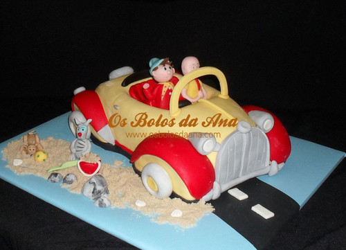Carro do Noddy, Ruca e Amigos