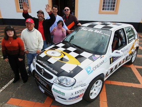 As equipas da ACM e do Team MV Sport...