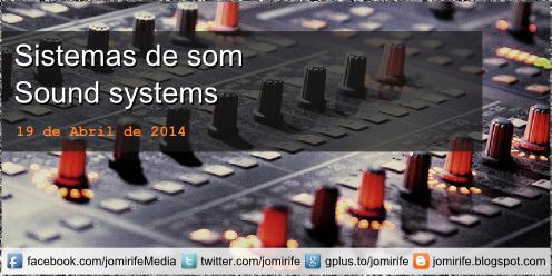 Blog Post: Esquema para montagem de sistemas de som: Cabine de DJ | Estúdio de Rádio | Espectáculo ao Vivo | Estúdio de Gravação [en] Scheme for setting up sound systems