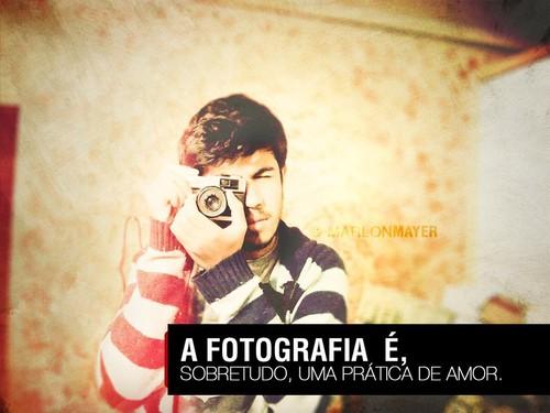 Fotografia é