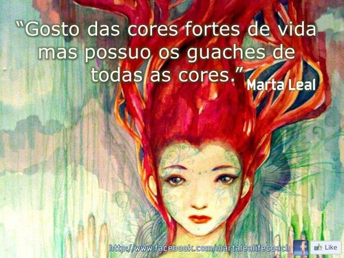 Cores fortes