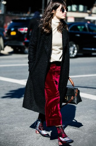 the-look-trousers-burgundy-red-crushed-velvet-trou