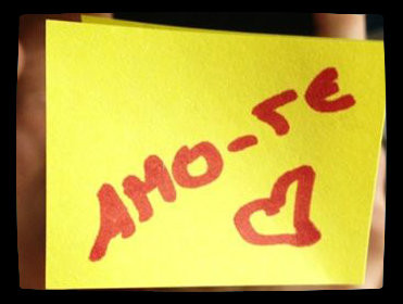 Post it Amo-te