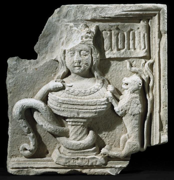 Figura 10 — Pedra-de-armas com a heráldica de C