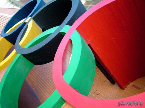 Anéis olímpicos - Pavilhão Municipal de Montemor-o-Velho (2) [en] Olympic Rings - Municipal gym of Montemor-o-Velho