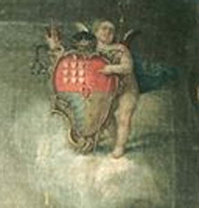 Representação da heráldica de D. Francisco de L
