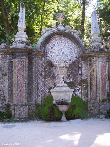 Sintra: Quinta da Regaleira - Fonte