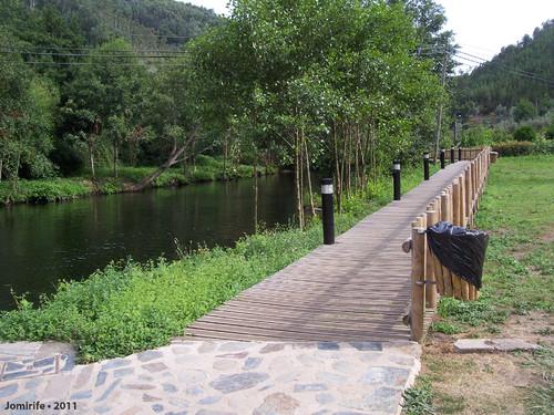 Vila de Góis - Praia fluvial: Passadiço