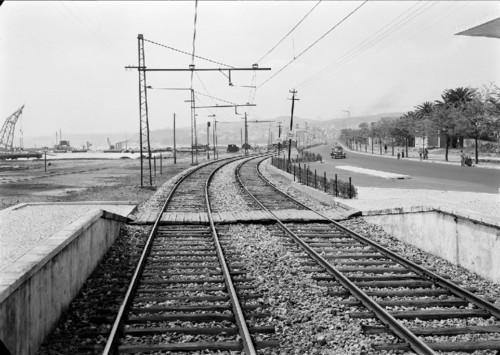Linha de Cascais, Pedrouços (M. Novais, s.d.)