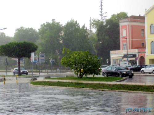 Chuva na Figueira da Foz - Avenida ribeirinha [en] Rain in Figueira da Foz, Portugal - Riverside Avenue