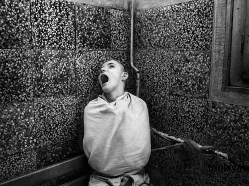 a patient of Serbian Psychiatric Hospital taken in