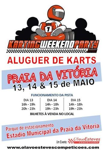 Karts de Aluguer na Praia da Vitória este fim-de-semana...