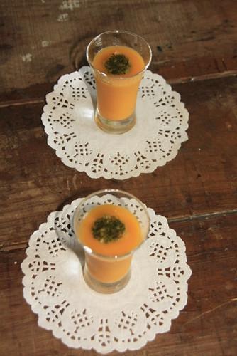 Ceme de abóbora e cenoura
