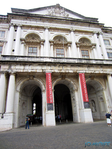 Lisboa - Palácio Nacional da Ajuda - Frente (3) [en] Lisbon - Ajuda National Palace - Front