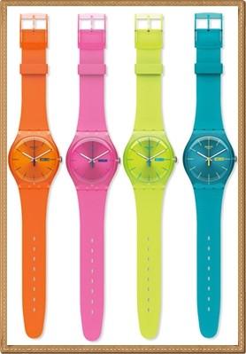 Relógios swatch