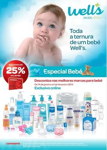 Novo folheto | WELLS | Especial Bebé - Online