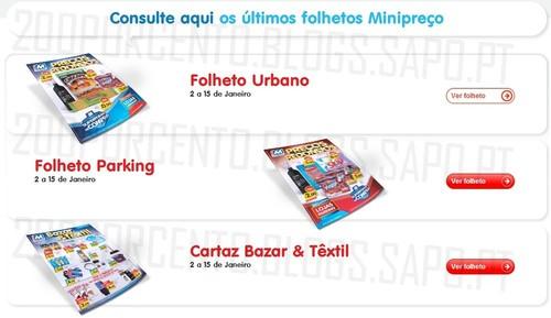 Antevisão Folhetos Mini Preço de 2 a 15 janeiro