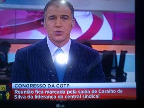 Telejornal, S.I.C., 27/I/2012
