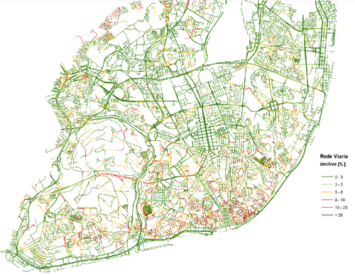 mapa carris pdf Mapa dos declives de Lisboa   Menos Um Carro mapa carris pdf