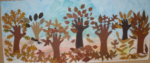 ideias para o outono jardim de infancia : ideias para o outono jardim de infancia:Painel de Outono – As nossas estrelas