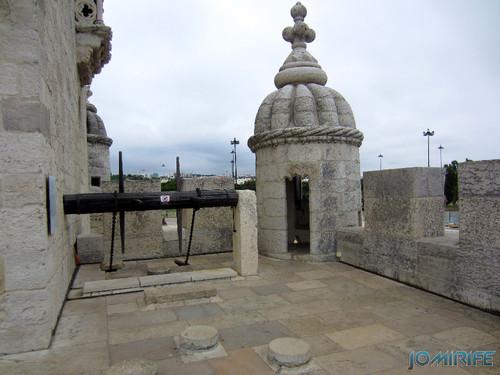 Lisboa - Torre de Belém (7) Sistema do portão [en] Lisbon - Belem Tower - System gate