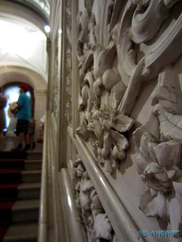 Lisboa - Palácio Nacional da Ajuda - Escultura nas paredes [en] Lisbon - Ajuda National Palace - Sculpture on the walls