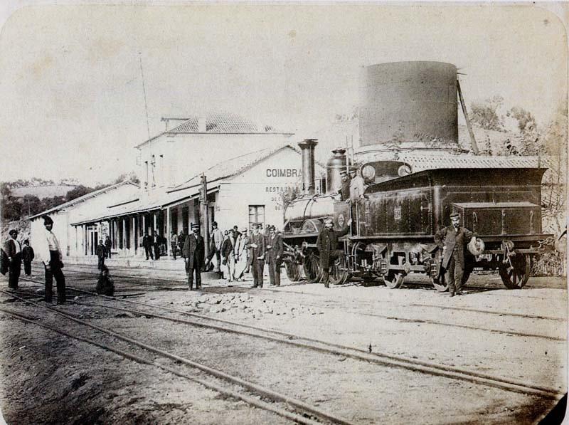 Fig. 02. Estação do caminho-de-ferro. [Revelar C