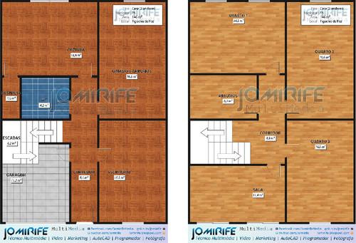 Portfolio: Planta Humanizada - Casa T5 (pisos)