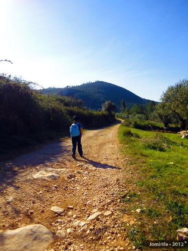 Serra de Sicó: Homem que lidera o grupo