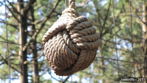 Parque Aventura: Bola de corda