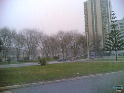 Muita chuva na Figueira da Foz