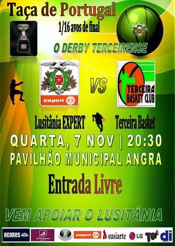 Lusitânia vs. Terceira, amanhã...