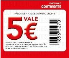 5€ em 25€ de compras