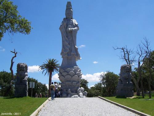 Jardim Buddha Eden - A estátua mais alta do jardi