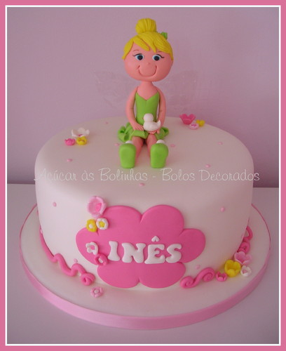 Bolos Cake Design Lisboa : Bolo Sininho - Ac?car as Bolinhas - Cake Design, Workshops ...
