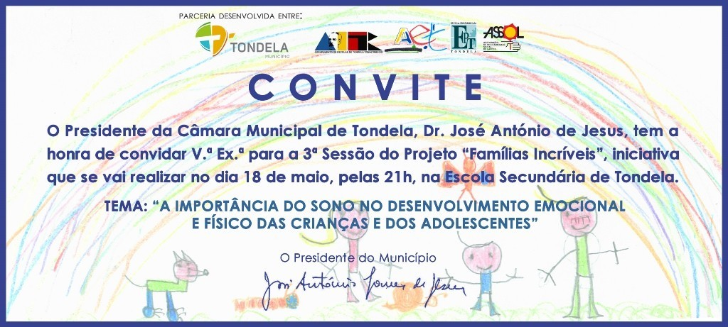Convite Famílias Incríveis_Presidente Município
