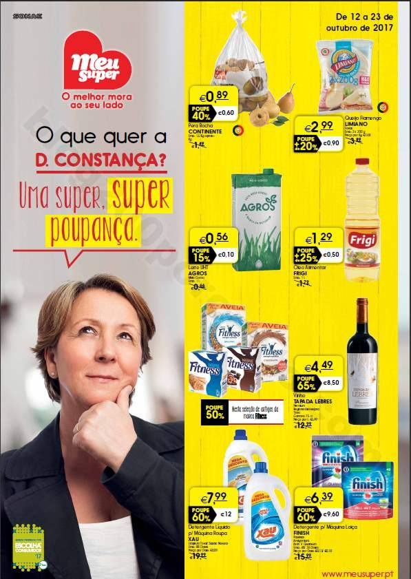 Antevisão Folheto MEU SUPER Promoções de 12 a 2